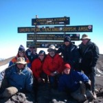 The LimbPower charity walk to the top of  Mt Kilimanjaro