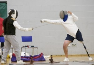LimbPower charity organised fencing classes